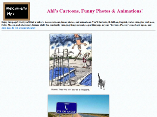 Ahl's Cartoons, Funny Photos & Animations!
