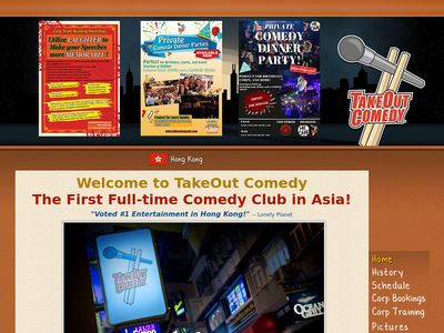 The TakeOut Comedy Club Hong Kong