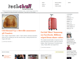 TechChuff - Tech Satire and Humour