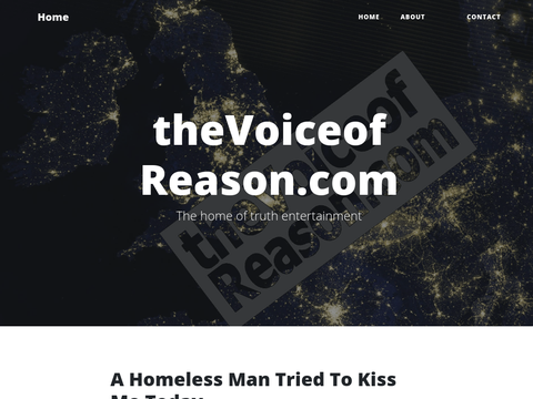 theVoiceofReason.com - the home of truth entertainment