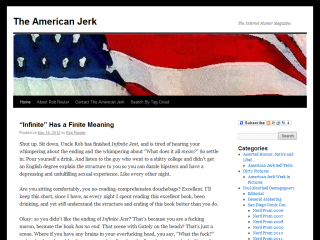 The American Jerk: The Internet Humor Magazine