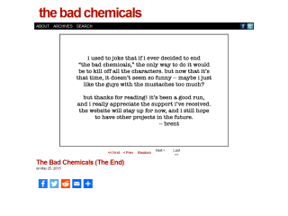 the bad chemicals