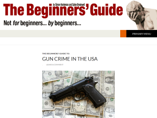 The Beginners Guide. Not for but by beginners