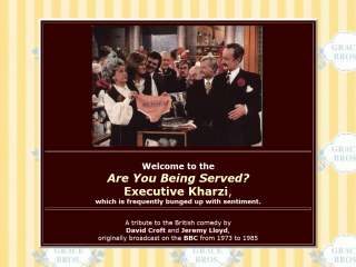 Are You Being Served? Executive Kharzi