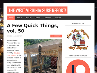 The West Virginia Surf Report!