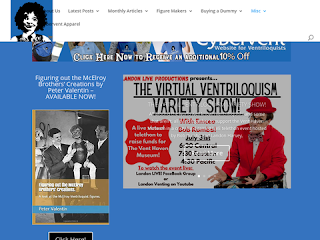 Website for ventriloquists