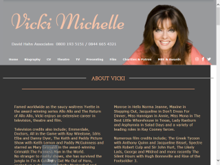 The Official Vicki Michelle Website