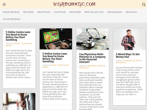 Weirdomatic.com - Weird Pictures