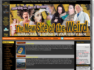 The new site of the weird