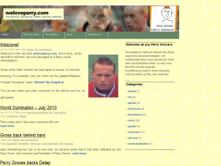 The Official Unofficial Perry Groves Website