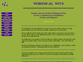Whimsical Wits