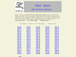 The �ALLO �ALLO Gallery