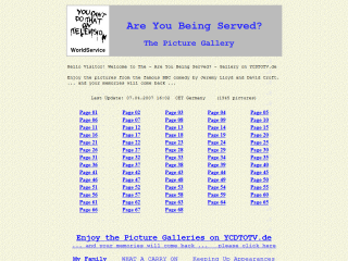 The Are You Being Served Gallery