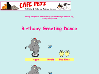 Birthday Greeting Dance