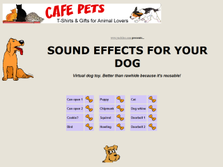 Sound Effects For Your Dog