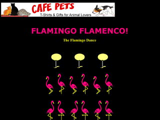 Flamingo Flamenco!