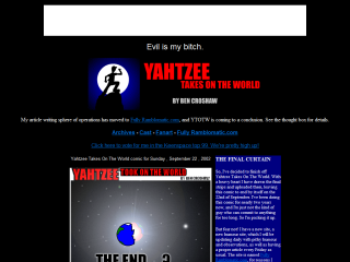 Yahtzee Takes On The World